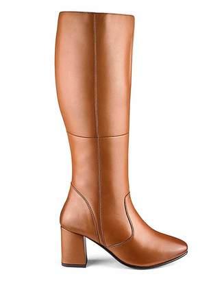 Jd Williams Leather Boots E Curvy Plus Calf