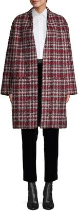 IRO Twisted Tweed Check Coat