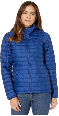 The North Face ThermoBalltm Eco Hoodie (Flag Blue Matte/Flag Blue ROM Print) Women's Coat