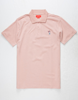 Asphalt Yacht Club Lemonade Mens Polo Shirt