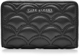Marc Jacobs Matelasse Compact Leather Wallet