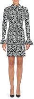 MICHAEL Michael Kors Floral Print Mockneck Dress