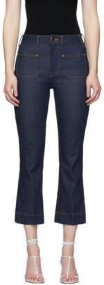 KHAITE Blue Raquel Jeans