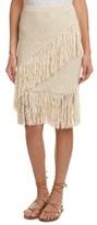 BCBGMAXAZRIA Fringe Pencil Skirt.