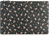 Givenchy floral print clutch - women - Cotton/Polyester/Polyurethane - One Size