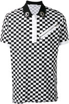 Givenchy checkered polo shirt - men - Cotton - S