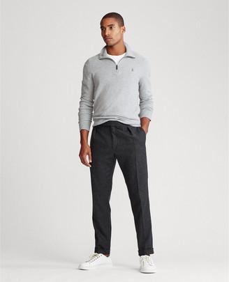 Ralph Lauren Tussah Silk Half-Zip Sweater