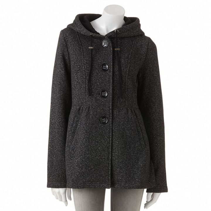 Babydoll Sebby hooded fleece jacket