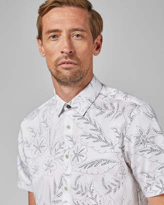 Ted Baker DAMIETT Tall floral short sleeved shirt