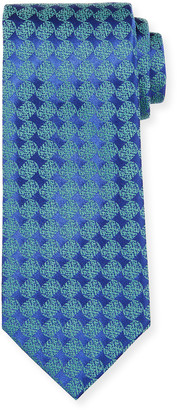 Charvet Men's Geometric Silk Tie
