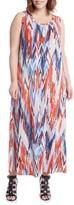 Karen Kane Plus Size Women's Print Maxi Tank Dress