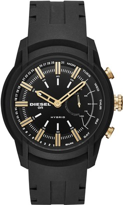 Diesel Mens Analogue Quartz Watch with Silicone Strap DZT1014