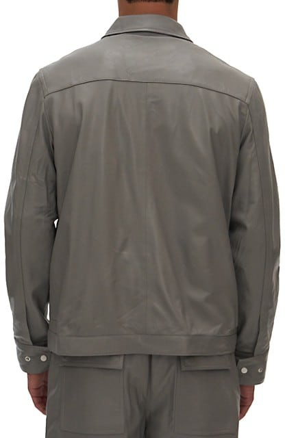 Thumbnail for your product : Helmut Lang Lambskin Leather Jacket