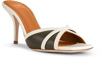 Malone Souliers Perla Bicolor Napa Slide Sandals