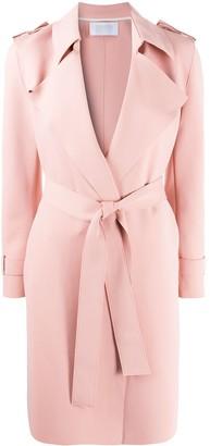Harris Wharf London Tie-Waist Trench Coat