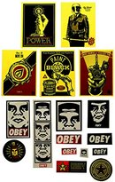 Obey Men's Sticker 3-pack
