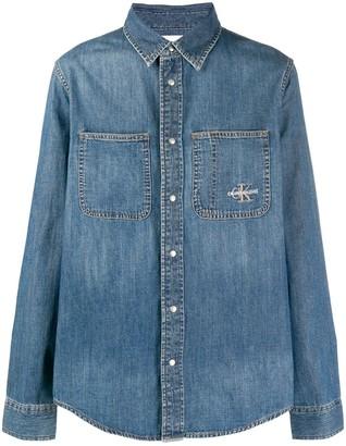 Calvin Klein Jeans Patch-Pocket Denim Jacket