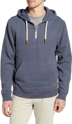 Fundamental Coast Later Regular Fit Quarter Zip Hoodie
