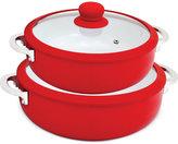Imusa 2-Pc. Red Ceramic Caldero Set