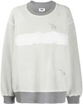 MM6 MAISON MARGIELA reversed logo sweatshirt