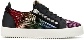 Giuseppe Zanotti Doris rhinestone-embellished sneakers