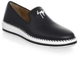 Giuseppe Zanotti Slip-On Leather Sneakers