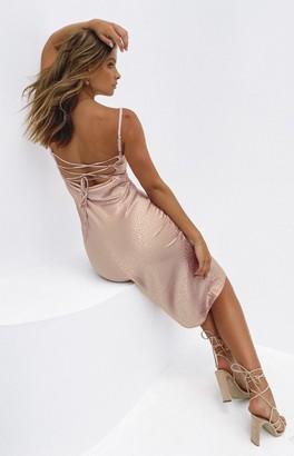 Beginning Boutique Amaryllis Dress Dusty Pink