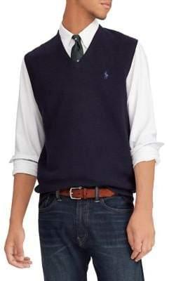 Polo Ralph Lauren Textured Cotton Sweater Vest