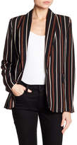 Know One Cares Vertical Stripe Blazer