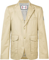 Moncler Gamme Bleu multi-pockets blazer - men - Cotton - I