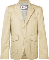 Moncler Gamme Bleu multi-pockets blazer