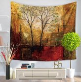 itt eautiful Forest Decor Tapestry Indian Tapestry Wall hanging each Throw