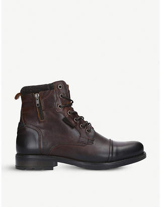 Aldo Powiel leather ankle boots