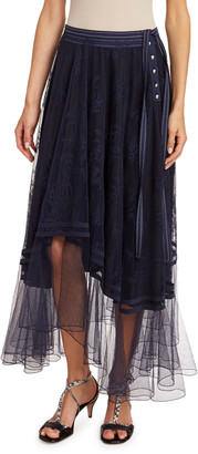 Chloé Chantilly Lace Skirt