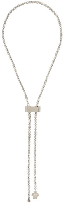 Versace Gold Medusa Lock Lariat Necklace