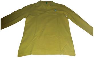Benetton Yellow Cotton Shorts