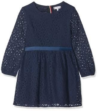 Tommy Hilfiger Girl's Signature Lace Dress L/s
