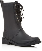 Rag & Bone Ansel Lace Up Rain Boots