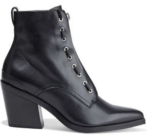 Rag & Bone Ryder Lace-up Leather Ankle Boots