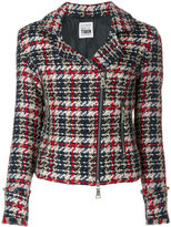 Twin-Set checked jacket - women - Acrylic/Polyamide/Polyester/Wool - XS