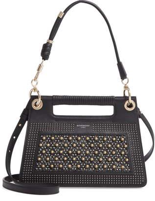 Givenchy Small Whip Studded Top Handle Bag
