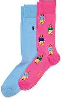 Ralph Lauren Polo Bear Trouser Sock 2-Pack