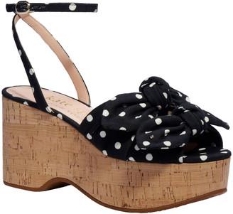 Kate Spade Julep Polka Dot Bow Sandals