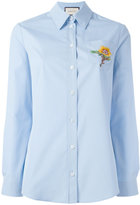 Gucci oxford shirt - women - Cotton/Polyamide/Polyester - 42