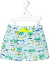 Stella McCartney Taylor beach print swim shorts
