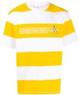 Calvin Klein Jeans Est. 1978 striped logo T-shirt
