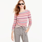 J.Crew Holly sweater in Fair Isle