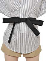 Marni Cotton Cady Bow Belt