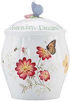 Lenox Butterfly Meadow Sentiment Cookie Jar