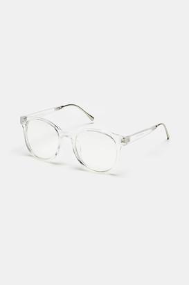 Ardene Clear Wayfarer Glasses